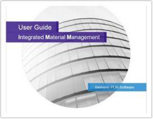 مستندات Teamcenter Integrated Material Management